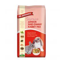Mr Johnsons Supreme Junior & Dwarf Rabbit Mix 2.25kg