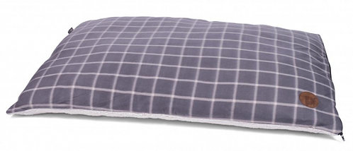 Grey Window Pane Pillow Mattress