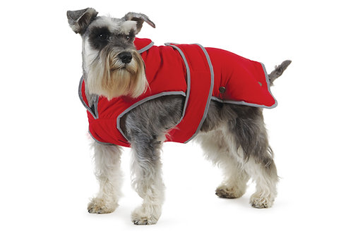 Ancol Stormguard Dog Coat Red
