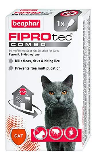 Beaphar Fiprotec Combo Flea & Tick Cat x1