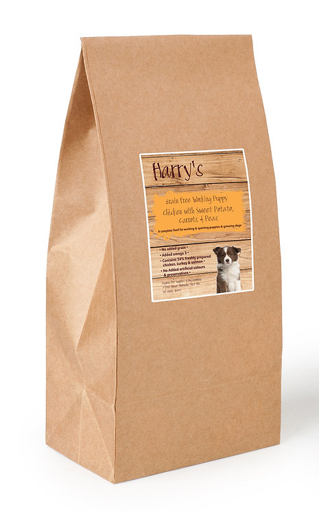 Harry's Grain Free Puppy Food Chicken, Sweet Potato & Carrot 15kg