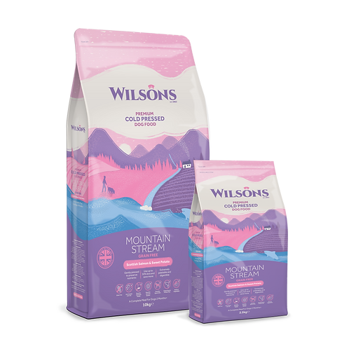 Wilsons Mountain Stream Salmon & Sweet Potato Cold Pressed