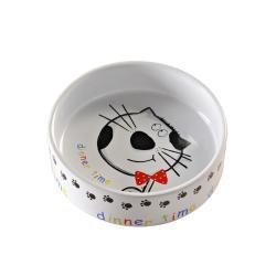 Mason Cash Dinner Time Cat Bowl