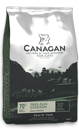 Canagan Cat Food Free Run Chicken 1.5kg