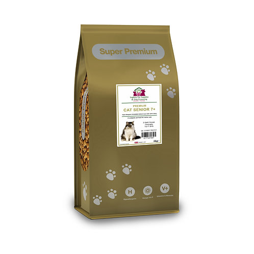 Super Premium Senior Cat Food 15kg
