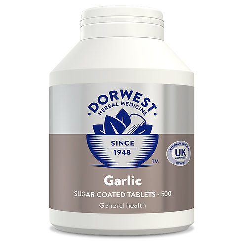 Dorwest Garlic Tablets for Dogs & Cats 500 Tablets