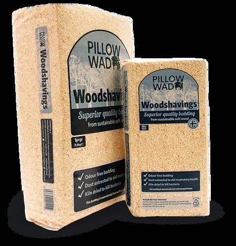 Pillow Wad Woodshavings