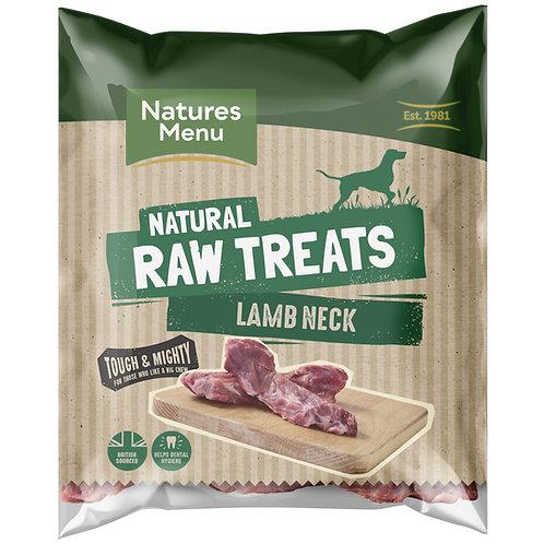Natures Menu Natural Raw Lamb Neck 500g