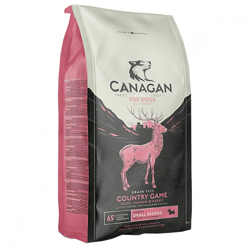 Canagan Small Breed Country Game Dog Food 6kg