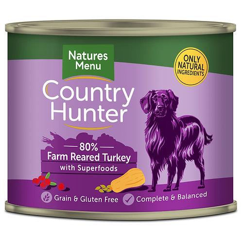 Country Hunter Farm Reared Turkey Dog Food 600g