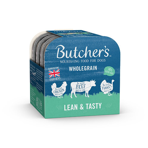 Butchers Lean & Tasty Wet Dog Food Foil