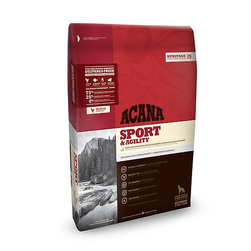 Acana Sport & Agility Dog Food 11.4kg