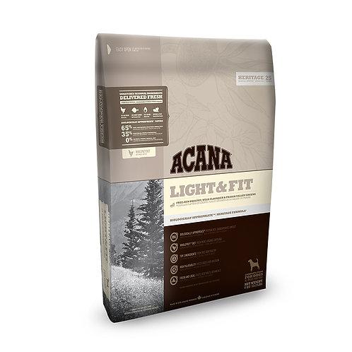 Acana Light & Fit Dog Food 2kg