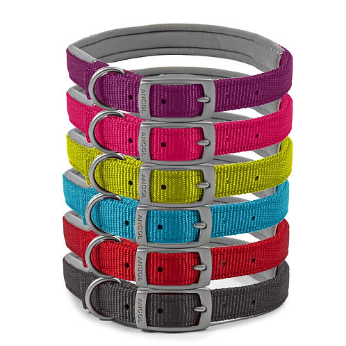 Ancol Viva Padded Dog Collar