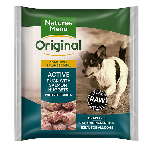 Natures Menu Raw Nuggets Active 1kg