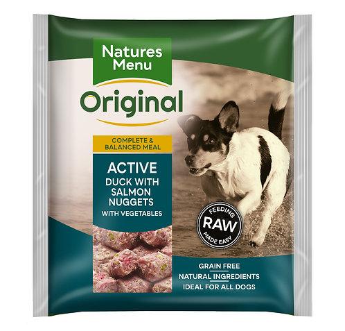 Natures Menu Raw Nuggets Active 1kg