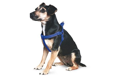 Ancol Padded Nylon Dog Harness Blue