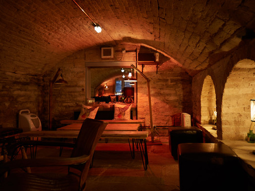 Book our wine cellar for an intimate party evening