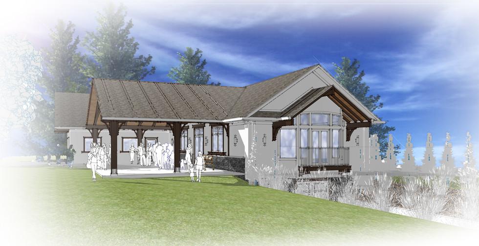 Slovenska Pristava Lobe Hall Addition