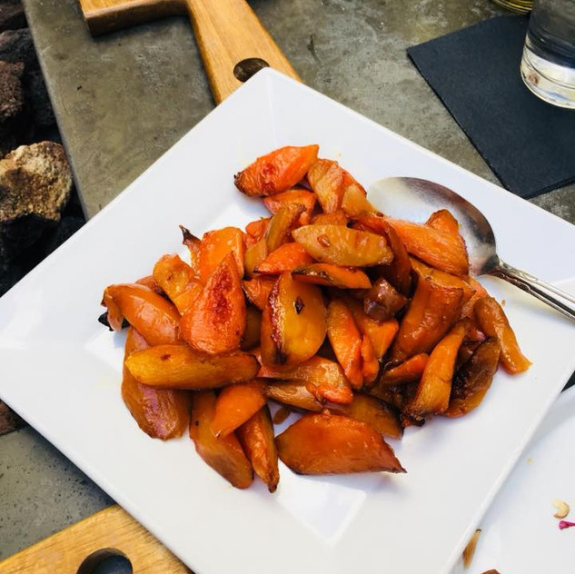 Camelized Honey Carrots