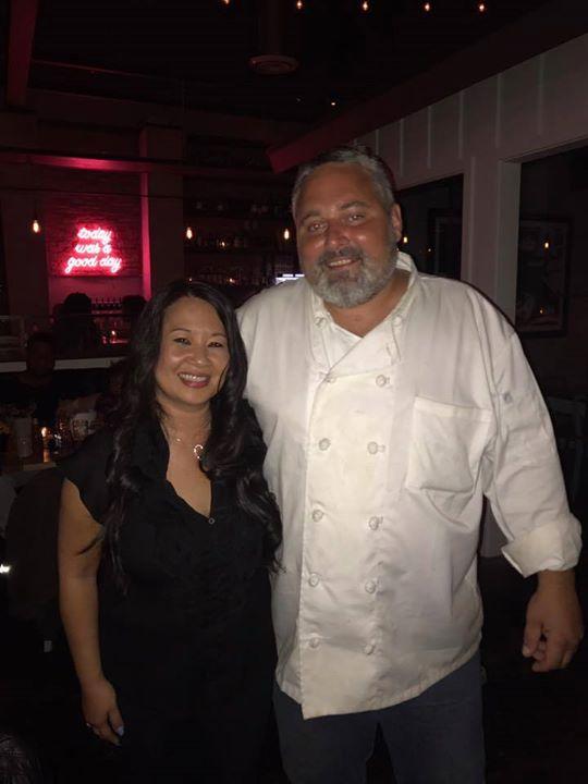 Chef Lawrence Duda and Me