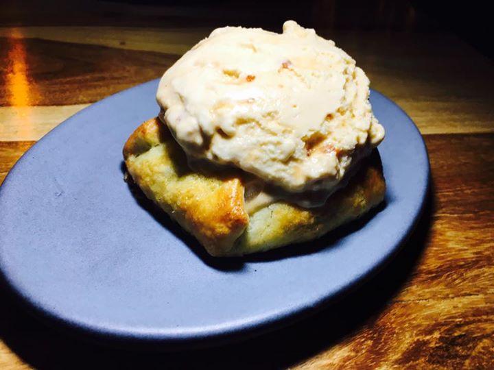 Apple Tart and Salted Caramel