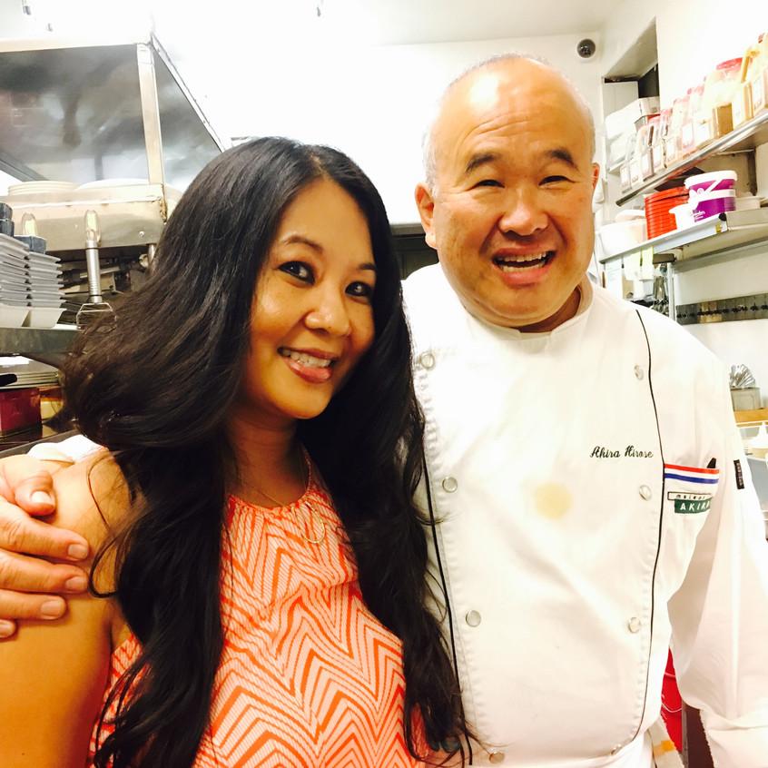 Chef Akira Hirose