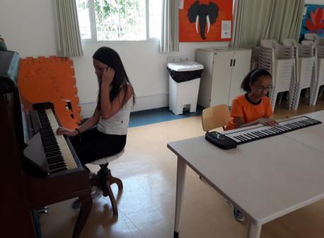 Aulas de musicalização