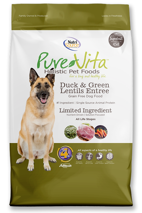 Purevita Duck & Green Lentils (DOG)