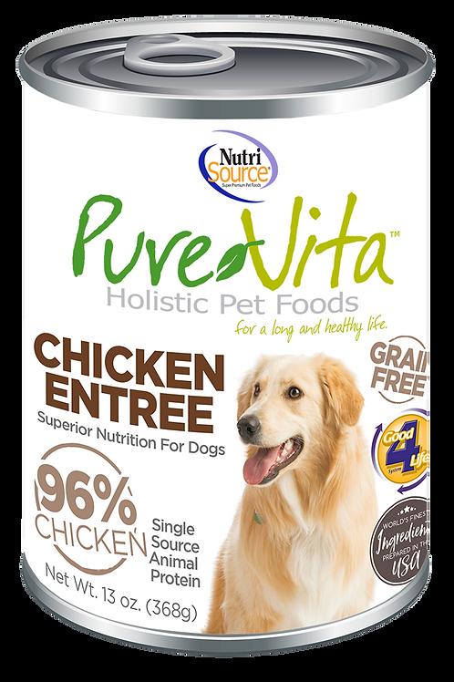 Purevita Chicken Entree Can (DOG)