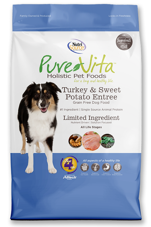 Purevita Turkey & Sweet Potato (DOG)