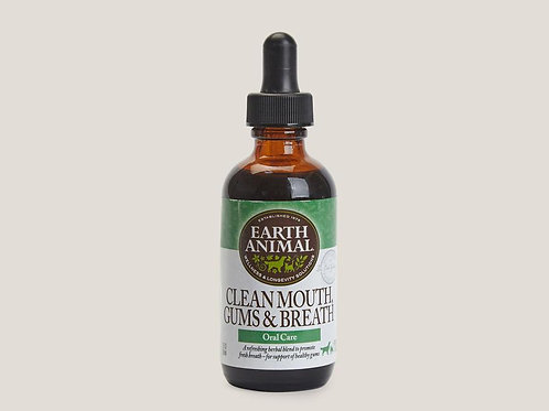 Earth Animal Clean Mouth Remedy 2oz.