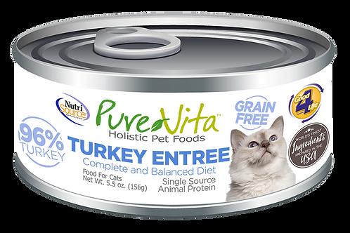 Purevita Turkey Entree (CAT) 5oz