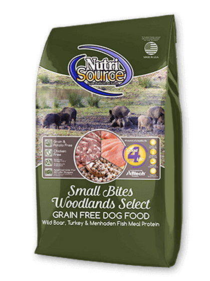 Nutrisource Grain Free Woodlands SMALL BITES