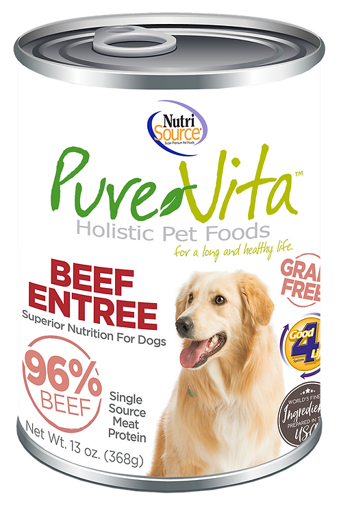 Purevita Beef Entree Can (DOG)