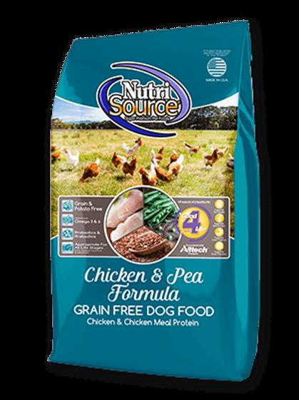 Nutrisource Grain Free Chicken & Peas