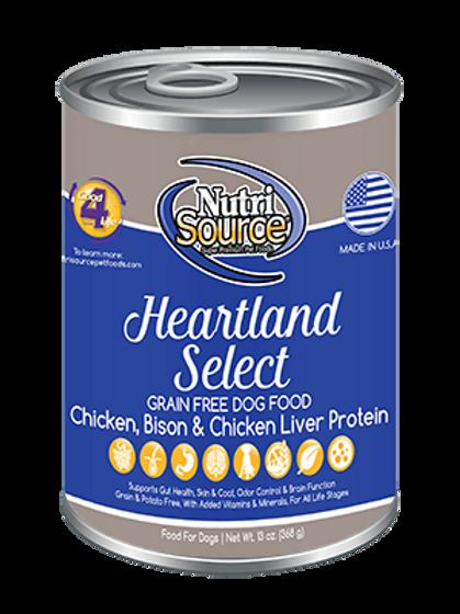 Nutrisource Grain Free Heartland CAN