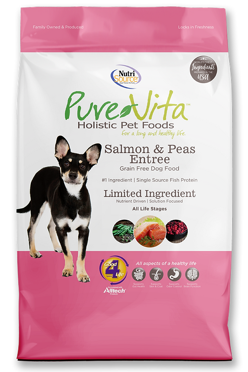 Purevita Salmon & Peas (DOG)
