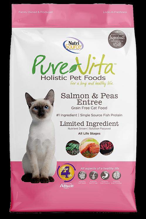 Purevita Salmon & Peas (CAT)