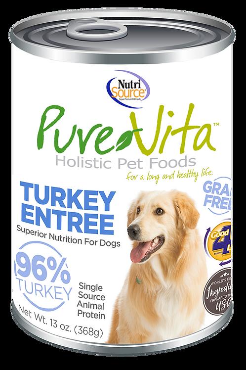 Purevita Turkey Entree Can (DOG)