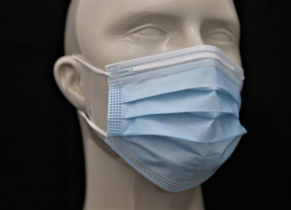 3-PLY DISPOSABLE MASK, NELSON LABS TESTED (ADULT & CHILDREN)