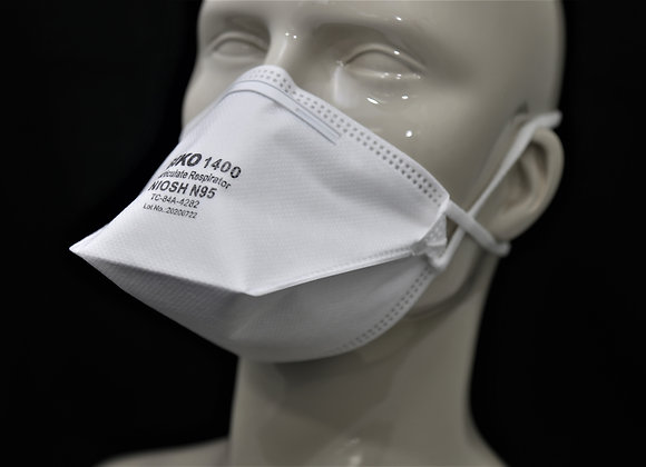 N95 RESPIRATOR & SURGICAL MASK, NIOSH APPROVED & CLASS II DEVICE