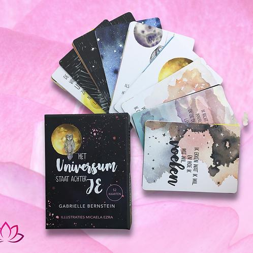 Het Universum staat achter je Orakelkaarten