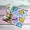 Thumbnail: DONUT WORRY kaart met groot Gelukspoppetje