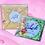 Thumbnail: Kaart met een groot gelukspoppetje en persoonlijk bericht