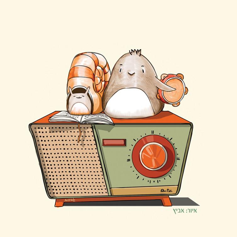 מופע רדיו - ירדן בר כוכבא ודידי שחר