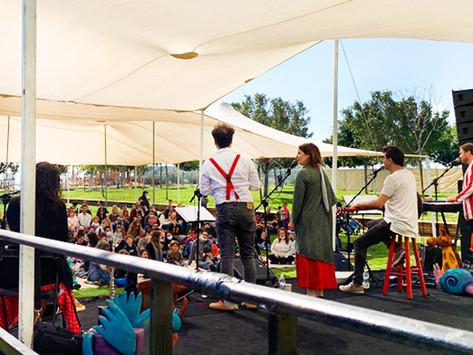 מתחם מופעי ילדים חדש בפארק אריאל שרון!