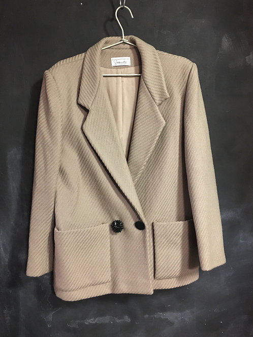 GIVENCHY vintage wool oversized blazer jacket very warm perfect Large unisex