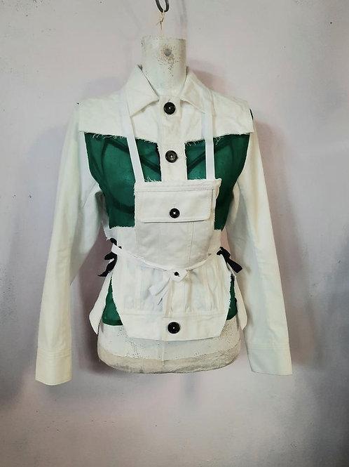 runway double jacket ann demeulemeester deconstructed