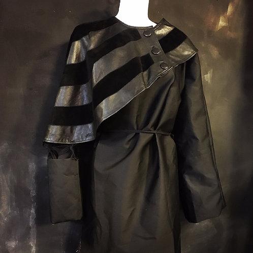 raincoat made of Raf Simons new fabric, a vintage Margiela piece